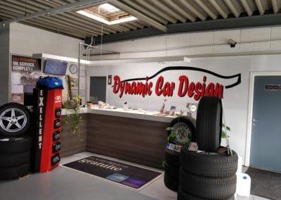 Comptoir dynamic car design