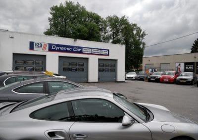 Devanture dynamic car design