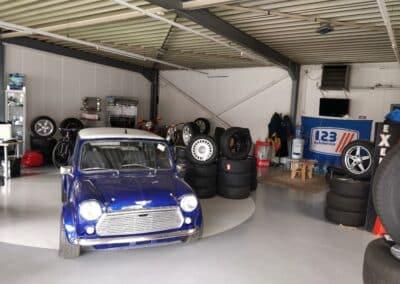 Showroom dynamic car design
